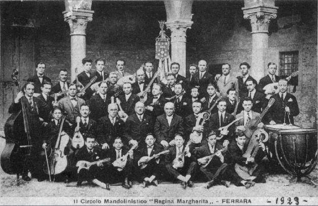 L'orchestra cittadina nel 1929