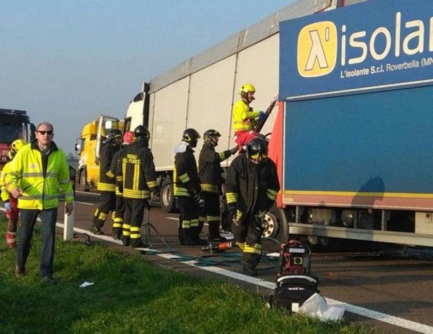 L'incidente in A22