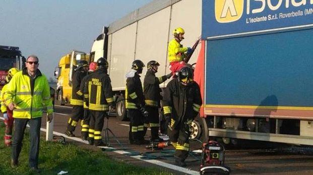 L'incidente in A22