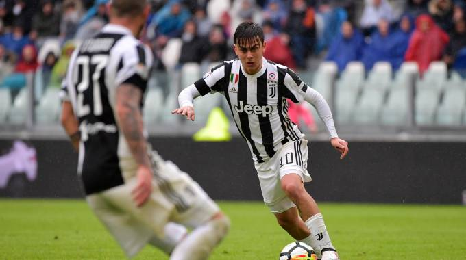Dybala, attaccante della Juventus (LaPresse)