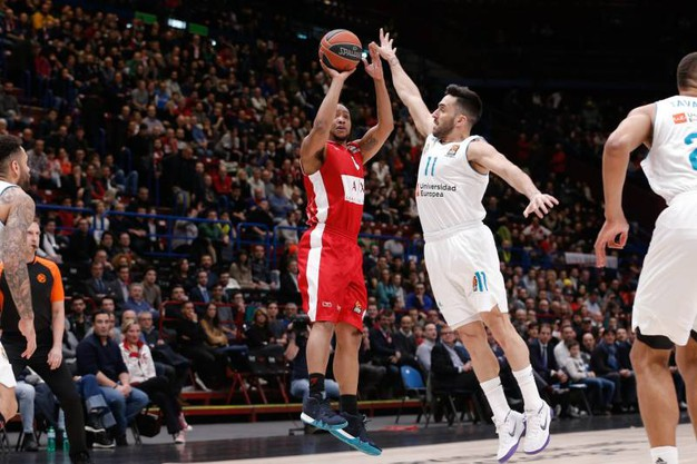 Olimpia Milano-Real Madrid