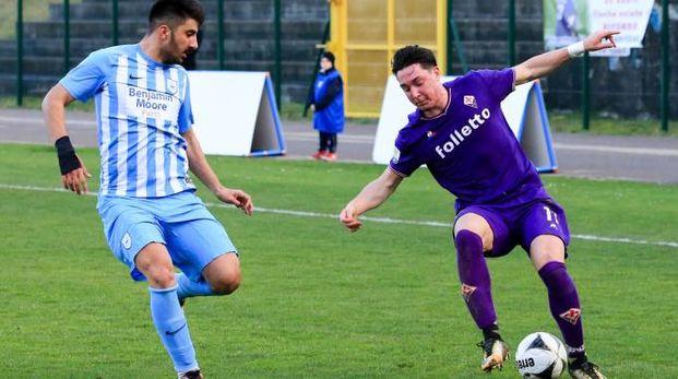 Un momento di Fiorentina-Pas Giannina (Fotocronache Germogli)