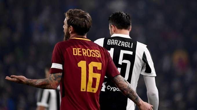 Un'istantanea dell'ultimo Juve-Roma di campionato