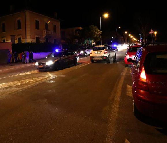 Le operazioni sono presiate dalle forze dell'ordine (fotoPrint)