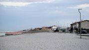 La zona dove è sttaa trovata la bomba di fabbricazione inglese (Ansa)