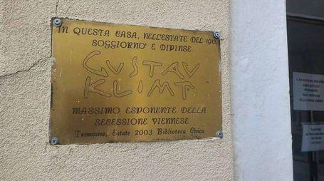 In vendita l'immobile che ospitò Gustav Klimt a Tremosine
