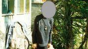 Un'immagine di una delle ragazze che si sottoponeva alla dieta macrobiotica Ma. Pi., era arrivata a pesare 35 chili  (foto ufficio stampa Polizia)