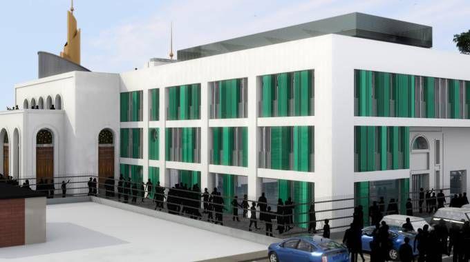 Il progetto della moschea in via Luini