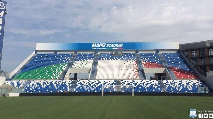 Lo stadio Mapei-Città del Tricolore