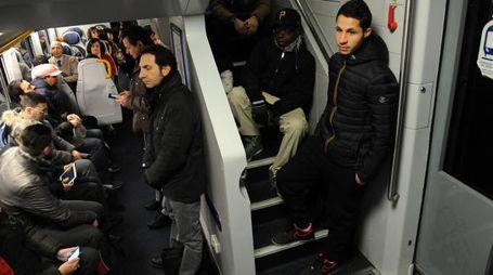 A volte è difficile salire sui treni della linea S5