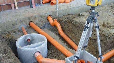 Lavori per migliorare lo smaltimento delle acque