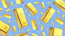 Piovono lingotti d'oro (Archivio)