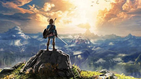 Un wallpaper di 'The Legend of Zelda: Breath of the Wild' – Foto: Nintendo