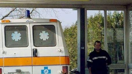 Il ferito è stato portato al Bassini