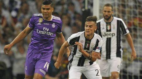 Paulo Dybala contro il Real Madrid (Newpresse)