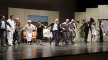 La compagnia teatrale I Manicomici