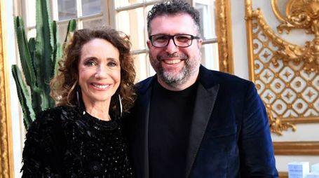 Marisa Berenson con Jacopo Tonelli (Fotoschicchi)