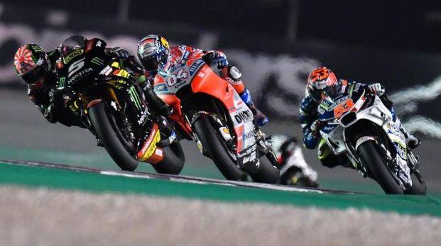 Andrea Dovizioso su Ducati (Ansa)