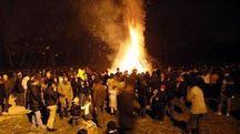 La Fogheraccia è una vecchia tradizione che attira ogni anno centinaia di persone
