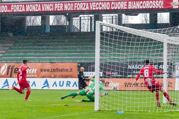 Monza-Siena (Lapresse)