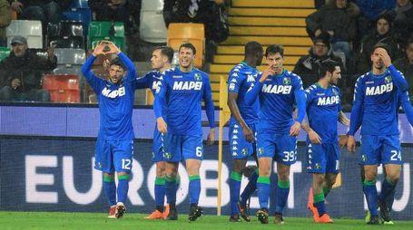 Sensi regala la vittoria al Sassuolo (Ansa)