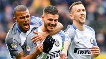 Sampdoria-Inter 0-5, Icardi (Ansa)