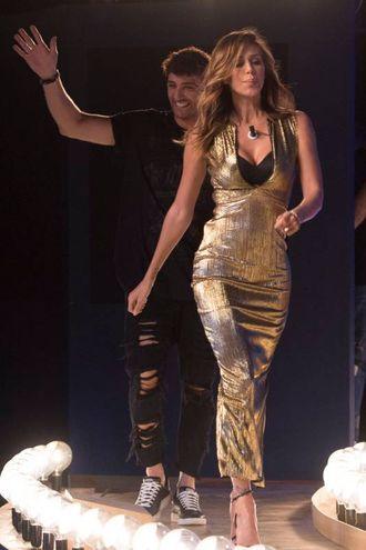 Belen Rodriguez, showgirl e fidanzata di Andrea Iannone (LaPresse)