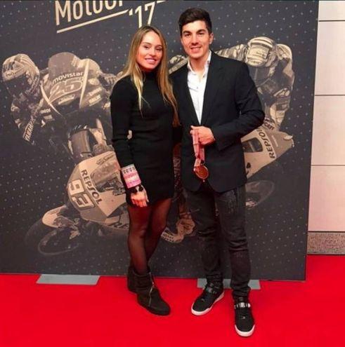 Cristina LLovera, 22 anni, compagna di Vinales (Foto Instagram)