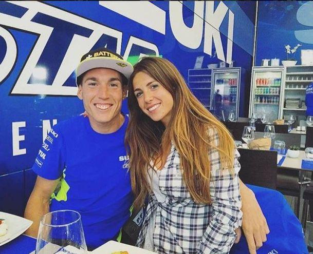 Laura Montero, moglie di Aleix Espargaro (Foto Instagram)