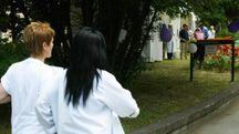Camici bianchi al San Salvatore (foto d'archivio)