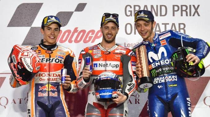 MotoGp 2018, Dovizioso vince in Qatar (Ansa)