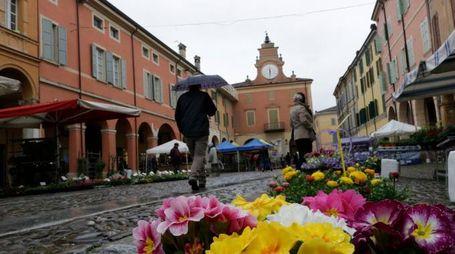 I fiori su corso Mazzini