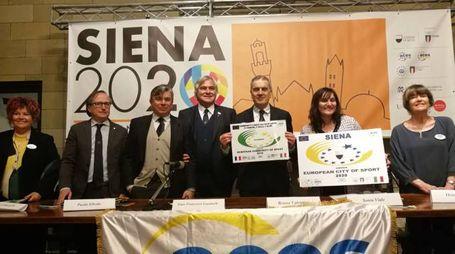 La commissione a Siena