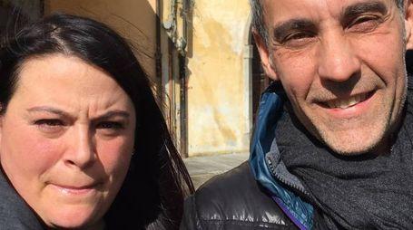 MANI DI FORBICE E CUORE D'ORO Simona Matteucci (responsabile commerciale organizzativo Gsg) e Carlo Musto presidente acconciatori Cna provinciale Pisa