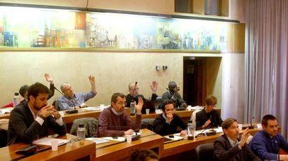 ASSISE  Il Consiglio comunale  in  seduta a palazzo Pretorio dove sono stati depositati i redditi (Orlandi)