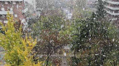 Pioggia mista neve