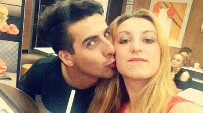 Laura Petrolito con Paolo Cugno, che ha confessato di averla uccisa (Ansa)