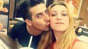 Laura Petrolito con il compagno Paolo Cugno, che ha confessato di averla uccisa (Ansa)