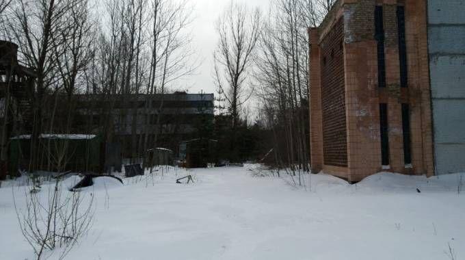 Ghiaccio e neve dominano il paesaggio