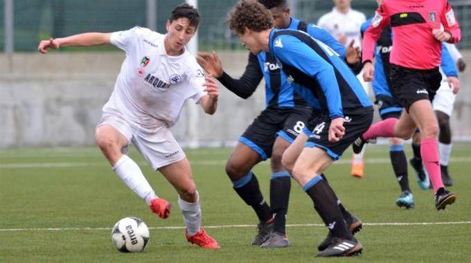 Un momento di Spezia-Bruges, una delle partite dei gironi