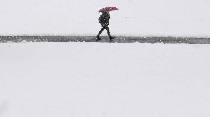 Previsioni meteo, ancora neve (Ansa)
