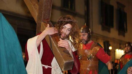 La rievocazione della Passione di Cristo a Grassina (foto Germogli)