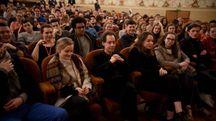 I musicisti in teatro comunale