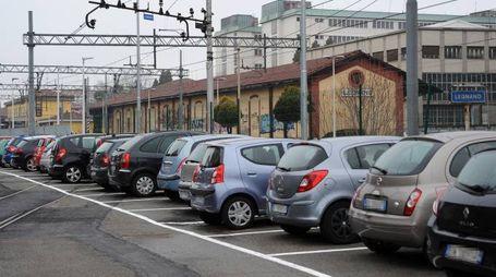 Il parcheggio di via Gaeta