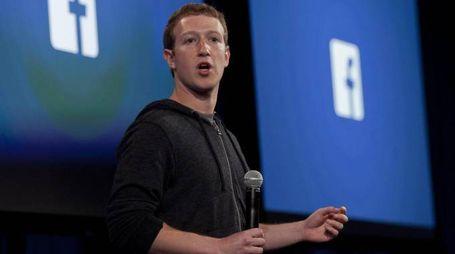 Il fondatore di Facebook Mark Zuckerberg (Ansa)