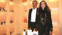 Marisa Berenson e Jacopo Tonelli