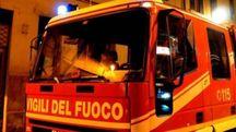 Sul posto sono intervenuti i vigili del fuoco, due ambulanze e i carabinieri