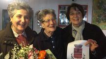 Da sinistra Maria Ceccarelli, Isella Meliani, Lucia Ciampi