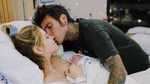 Chiara Ferragni e Fedez con il piccolo Leone (Instagram)