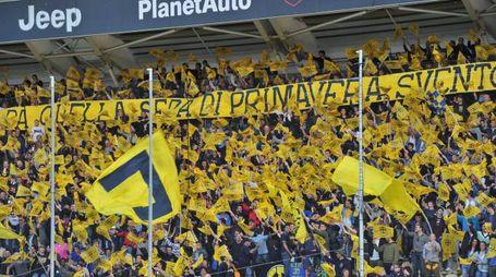 I tifosi del Modena (FotoFiocchi)